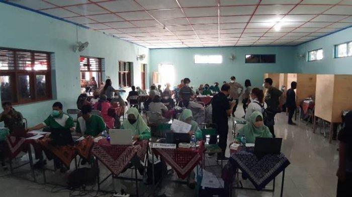 BAIS TNI - Kodim Boyolali Gelar Serbuan Vaksinsi di Banyudono Boyolali, Sasar Lima Desa
