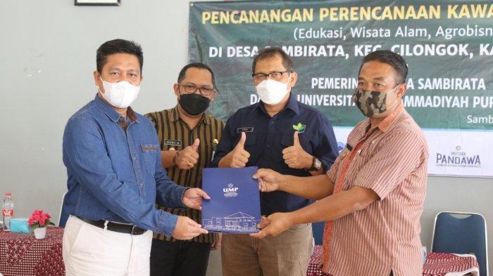 UMP Purwokerto dan Kementerian LHK Canangkan Kawasan Terpadu Sambirata Banyumas