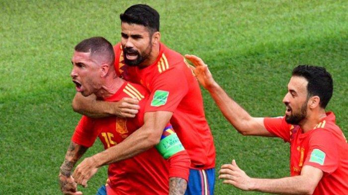 7 Fakta Rusia Vs Spanyol, Termasuk Pemain Tertua yang Bikin Gol Bunuh Diri