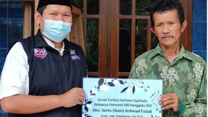 ACT Pekalongan Salurkan Bantuan di Keluarga Sertu Kom Achmad Faisal