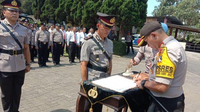Iptu Sugiyarta Resmi Jabat Kapolsek Bandungan, Ini Pesan Kapolres Semarang
