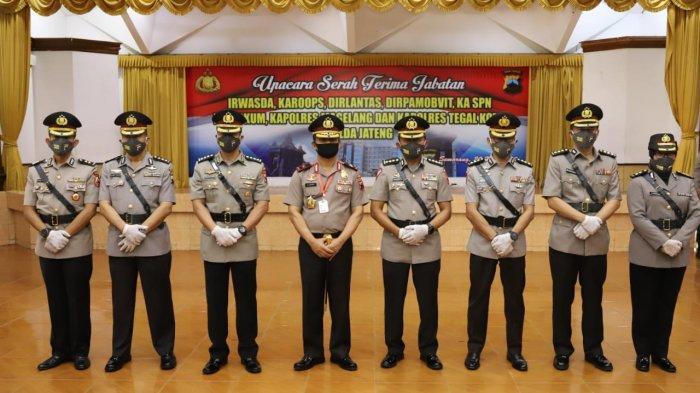 Rombak Besar-besaran, Berikut Pejabat Utama Polda Jateng dan Kapolres Baru
