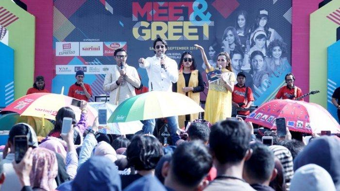 Shaheer Seikh Sapa Fansnya di Alun-alun Boyolali Sore Ini