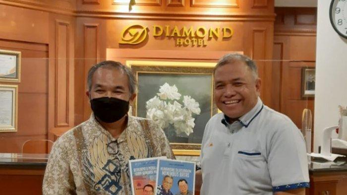 Apresiasi Mayjen TNI Purn Sunindyo untuk Dr Aqua Dwipayana