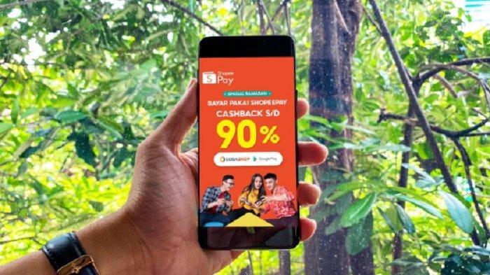 Jelang Lebaran, ShopeePay Berikan Cashback Hingga 90% di Codashop dan Google Play Store