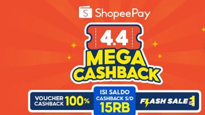 Bukan April Mop! ShopeePay Hadirkan Promo Besar-Besaran  di 4.4 Mega Cashback