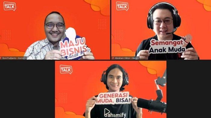 ShopeePay Talk Kobarkan Semangat Bisnis Anak Muda
