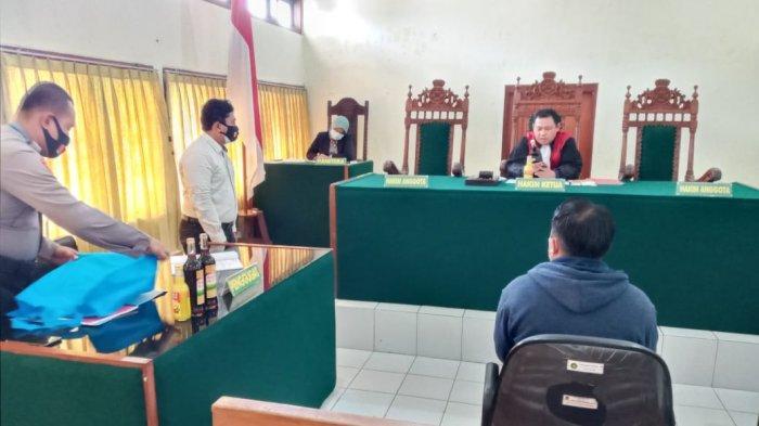Penjual Miras Pati Kena Tipiring Denda Sejuta Rupiah