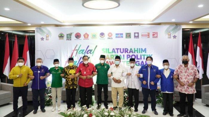 Seluruh Pimpinan Parpol di Jateng Bertemu di Kantor DPW PKB, Gus Yusuf: Semua Partai Berkompetisi