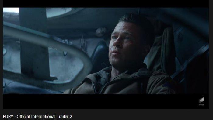 Sinopsis Fury Bioskop Trans TV Pukul 23.30 WIBTank Baja Melawan Nazi