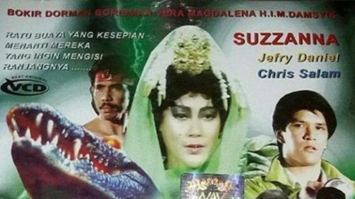 Sinopsis Ratu Buaya Putih ANTV Hari Ini Jam 19.00, Suzanna Dirasuki Arwah Korban Sumarna - Tribun Jateng