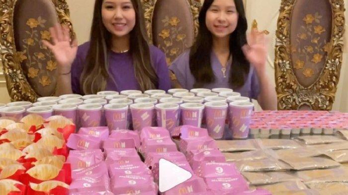 Cara Unik Sisca Kohl yang Ikut Borong BTS Meal untuk Dicampur Jadi Es Krim