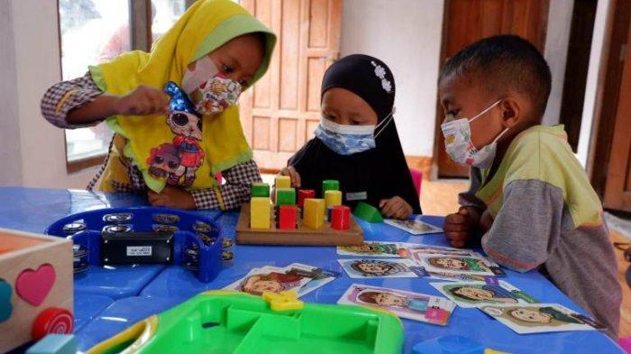 Berkonsep Blended Learning, Sekolah Murid Merdeka di Kudus Gelar Pembelajaran Tatap Muka