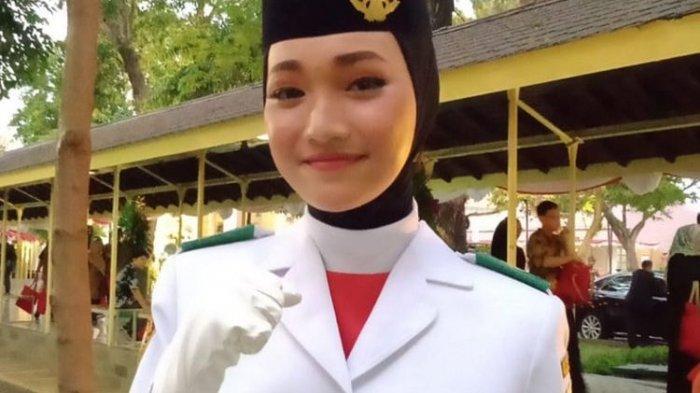 Inilah Sosok Indrian Puspita Paskibraka Cantik Istana Negara, Cetak Sejarah Baru 2 Kali Terpilih
