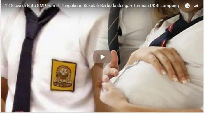 Kisah Siswi SMP Hamil,  Ternyata Pelakunya Masih Sepupu dan Diduga Kabur ke Jogja