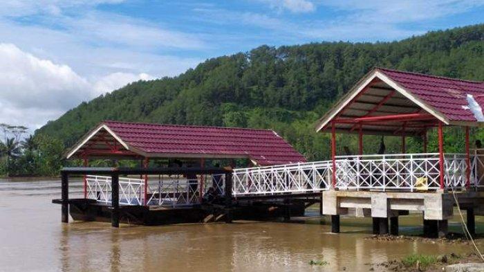 Dua Dermaga Wisata di Sungai Serayu Banyumas Selesai Digarap, Masih Terkendala Pengadaan Kapal