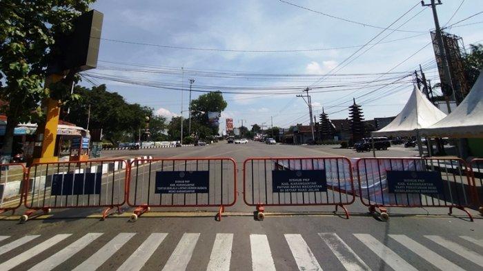 PPKM Darurat, Satu Ruas Jalan di Karanganyar Ditutup 24 Jam