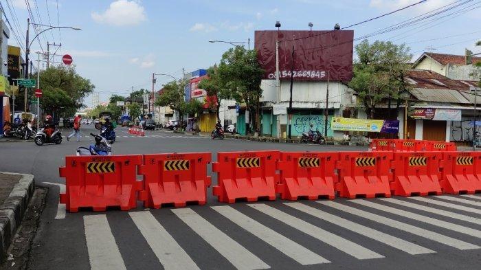 PPKM Kembali Diperpanjang, Penyekatan Jalan di Purwokerto Dilonggarkan