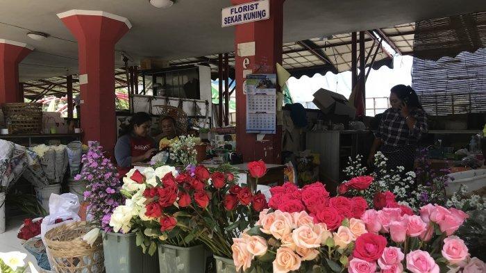 Jelang Hari Valentine, Harga Bunga Mawar di Semarang Meningkat 2 Kali Lipat