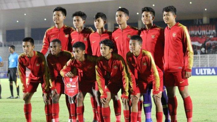 Inilah 22 PemainTimnas U16 Indonesia Pilihan Bima Sakti untuk Lawan UEA