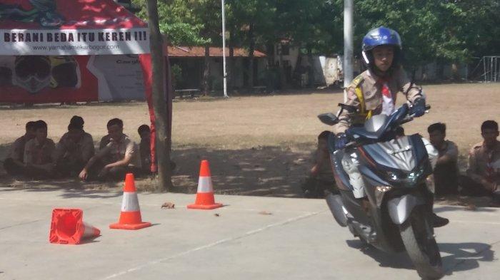 Yamaha Gelar Kompetisi Safety Riding di SMAN 1 Semarang, Pemenangnya Bakal ke Jakarta