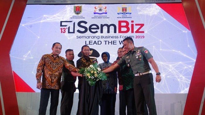 Di Semarang Business Forum, Hendi Tawarkan Proyek Senilai Triliunan Rupiah ke Investor