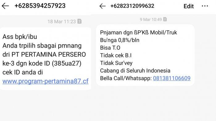 Cara Blokir SMS Penipuan Undian Berhadiah & Pinjaman Online