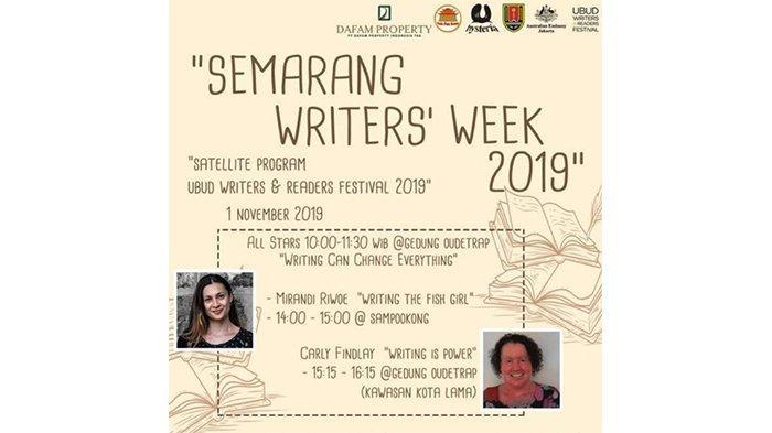 Semarang Writers Week 2019 Sekarang Ada di Sam Poo Kong