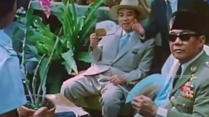 Viral Video Kedekatan Soekarno dan Kim Il Sung, Pendiri Korea Utara Kakek Kim Jong Un