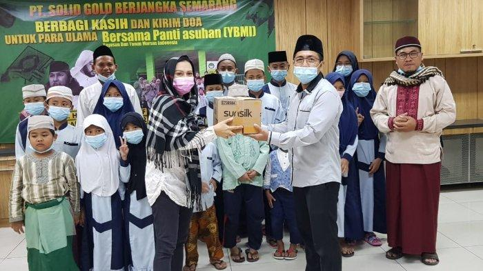 Solid Gold Berjangka Semarang Kirim Doa untuk Para Ulama dan Berbagi Kasih