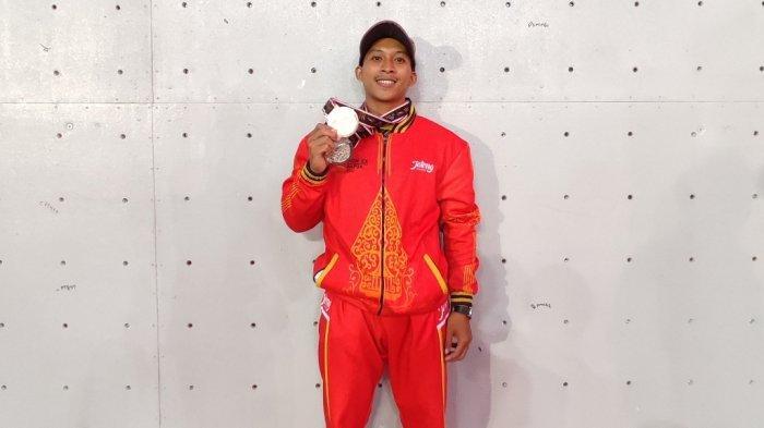 Solikin Atlet Panjat Tebing Asal Jepara Berhasil Raih 2 Medali di PON Papua 2021