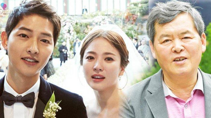 Song Yong Gak Ayah Song Joong Ki Buka Suara: Salahkan Diri Atas Perceraian SongSong Couple