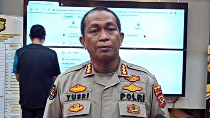 Polda Metro Jaya merilis sopir Fortuner bawa pistol viral di medsos.