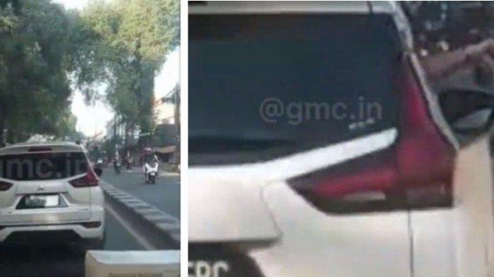 Viral Sopir Xpander Acungkan Jempol ke Bawah saat Ambulans Minta Jalan