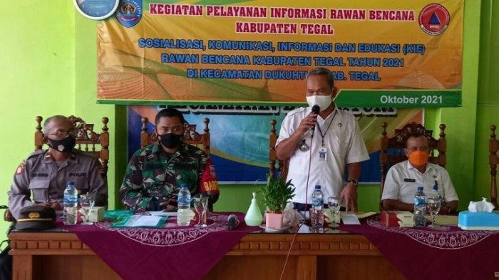 BPBD Kabupaten Tegal Beri Edukasi Penanganan Bencana, Peran Masyarakat Sangat Penting