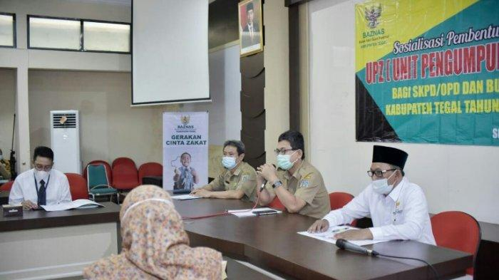 Baznas Permudah ASN dan Karyawan BUMD Salurkan Zakat Profesi