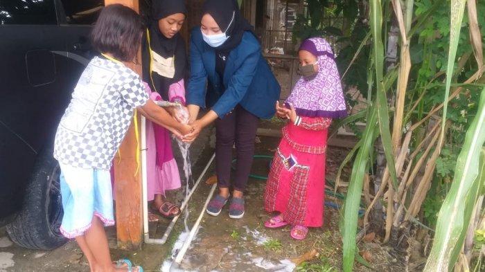Mahasiswa KKN Undip Dampingi Warga Manfaatkan Daun Kelor Jadi Sabun Pencegah Covid-19