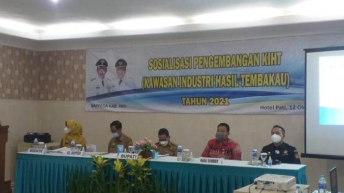 Bupati Pati Haryanto Sebut Dana Cukai Tembakau Bantu Penanganan Pandemi Covid-19