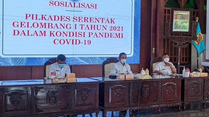 Pilkades Serentak di Pati, Bupati Haryanto Sampaikan Pesan Khusus Termasuk Soal Kualitas Calon Kades