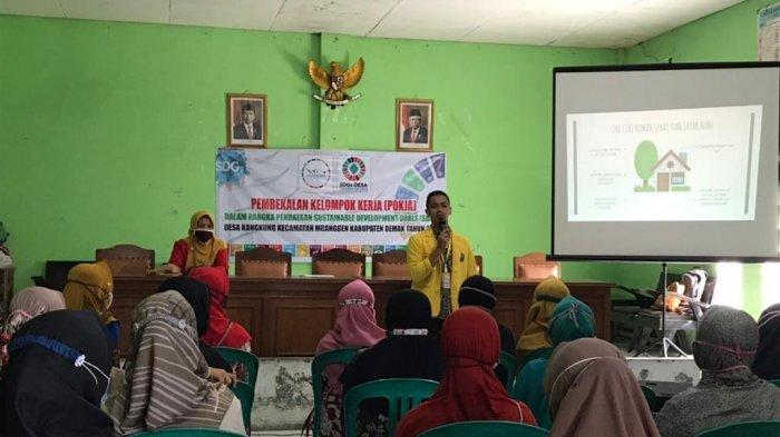 Sosialisasi Rumah Sehat bagi Warga Desa Kangkung dalam KKN Tematik Unnes Bersama Disperakim Jateng