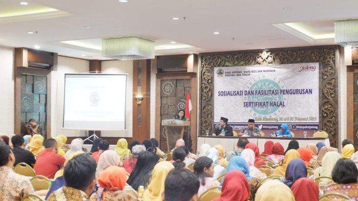 150 UMKM di Jateng Ikuti Sosialisasi Mekanisme Pendaftaran Sertifikat Halal
