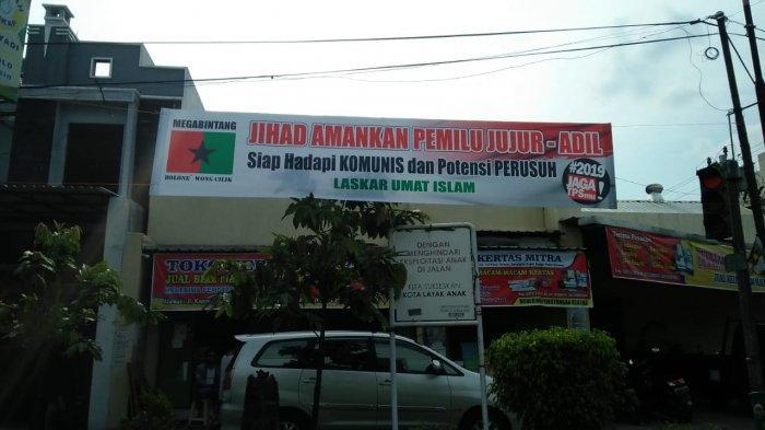 Spanduk Ajakan Jihad Amankan Pemilu Terpasang di Solo, Mudrick Sangidu: Kami yang Pasang
