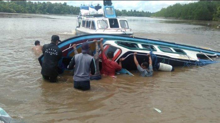 Kecelakaan Perahu Motor Terbalik di Perairan Nunukan, 5 Penumpang Meninggal