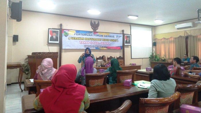 30 OPD Kabupaten Jepara Ikuti Pertemuan Forum Germas