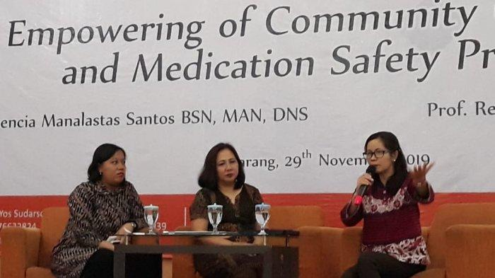 2 Pembicara dari Centro Escolar University Filipina Isi Expert Lecture Stikes Telogorejo Semarang