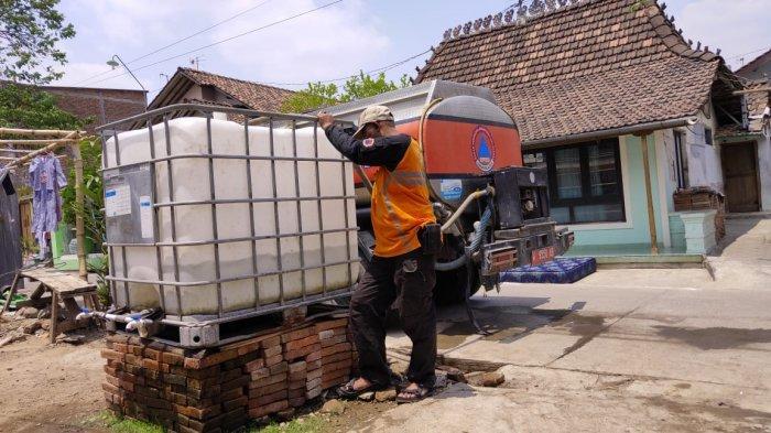 Ada Peningkatan Permintaan, Stok Air Bersih BPBD Kudus Menipis
