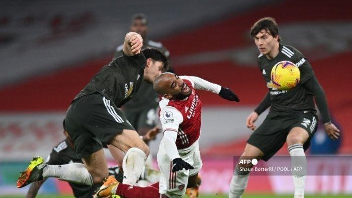 Hasil Liga Inggris Arsenal vs MU: Setan Merah Catatkan Rekor Terlama Laga Tandang Belum Terkalahkan