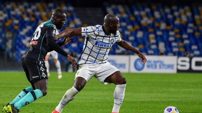 Hasil Liga Italia Tadi Malam Napoli Vs Inter Milan, Kandidat Kuat Scudetto Ditahan Imbang 1-1