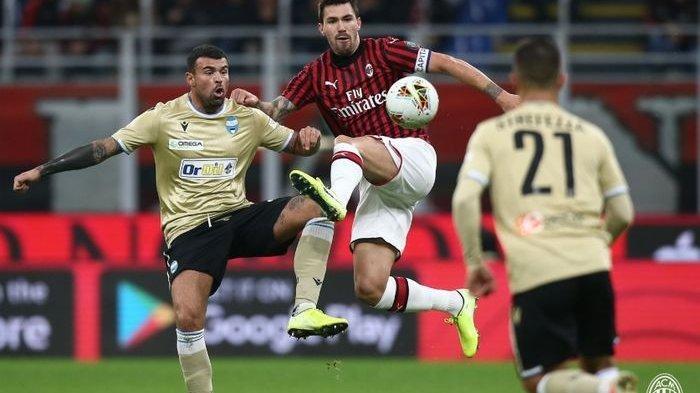 Prediksi AC Milan Vs Spezia Serie A Liga Italia, H2H, Line Up dan Link Live Streaming Bein Sports
