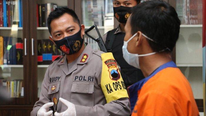 Panjat Pagar Rumah, Pria Asal Wonosobo Ini Curi Handphone di Kebumen